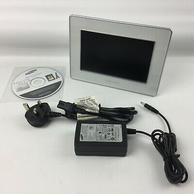 """Samsung 7"""" Digital Photo Picture Frame, SPF-72H, Tested Working"""
