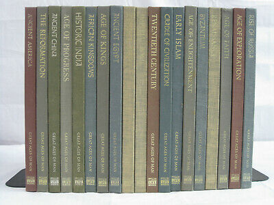 Time Life Books Great Ages of Man Series 19 book lot HC VG/VG+
