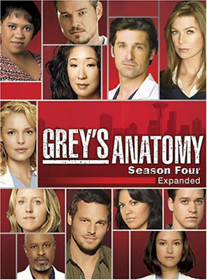 Grey`S Anatomy - The Complete Fourth Season (US IMPORT) DVD NEW