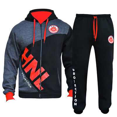 Boys Girls Hooded Tracksuit  Tops Jogging Bottoms Kids Jogging Suits Age 7 To 14