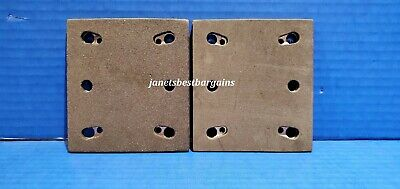 4 Sander Pad for Makita 158324-9 Square with Backing Plate