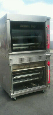 Hardt Inferno 3500 Double Stack Rotisserie Oven Natural Gas