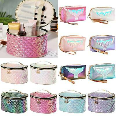 Womens Make Up Vanity Case Travel Cosmetic Large Bag Toiletry Handbags Box Pouch