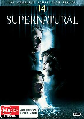 SUPERNATURAL Season 14 (Region 2 UK Compatible) DVD The Complete Series Genuine