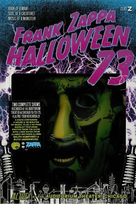 ZAPPA, Frank - Halloween 73: Alive! At The Auditorium Theater Chicago - CD box