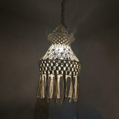 Hand-knit Lampshade Lantern Chandelier Moroccan Bedroom Living Decoration Lamp