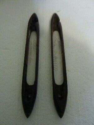 Lot of 2 Vintage Shuttlecocks Boat Shuttles For Weaving Looms  S-21