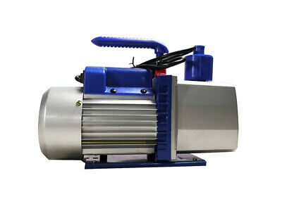 INTBUYING Vacuum Pump for Industry 7CFM 3/4HP 110V Rotary Vane Two-stage Best