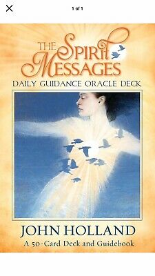 The Spirit Messages Daily Guidance Oracle Deck, John Holland (AS NEW)