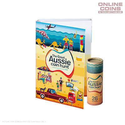 2019 Australia Post RAM The Great Aussie Coin Hunt Folder and 26 $1 Coin Set