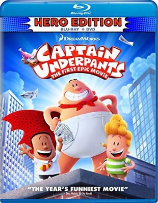 CAPTAIN UNDERPANTS: THE FIR...-CAPTAIN UNDERPANTS: THE FIRST EPIC M Blu-Ray NEUF