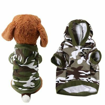 Pet Dog Winter Warm Clothes Costumes Puppy Cat Hoodie Coat Sweater Shirt Apparel
