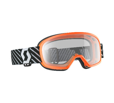 SCOTT Buzz MX Brille Sonderpreis 262579 50% Orange Schwarz Weiß  K65 P16