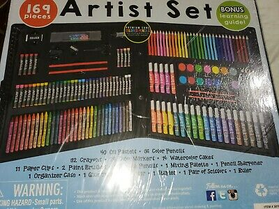 Drawing Artists Coloring Set, Art Set Kit for Kids,Young Adults - 169 pieces