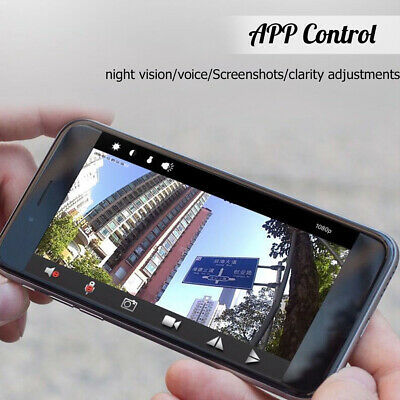 1080P HD Mini IP WIFI Camera Camcorder Wireless Home Security DVR Night Vision@