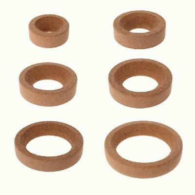 Brown Laboratory Bottle Cork Stands Ring Holder Round Bottom For 10-5000ml Flask