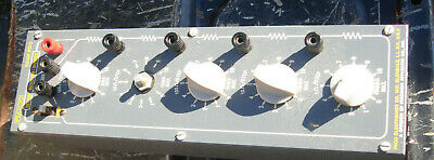 Paco Electronics Decade Resistor Divider Rd-5