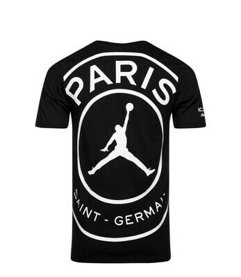 NIKE AIR JORDAN X Paris Woodmark T Shirt XL QS Big Logo PSG