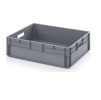 Euro Containers 80x60x22 Stacking Storage Box Eurobox Stackable 800x600x220 87l