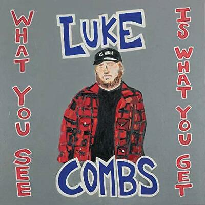 Luke Combs Cd - What You See Is What You Get (2019) - New Unopened - Country