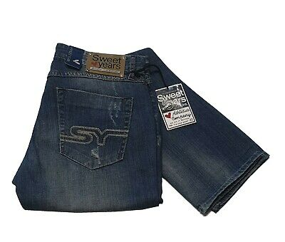 Sweet Years SYJ154 Jeans Uomo Col Denim tg varie   -44 % OCCASIONE  