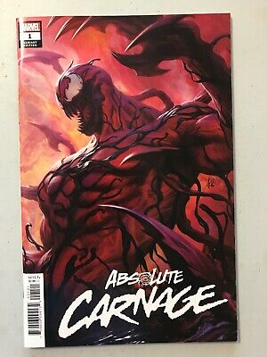 ABSOLUTE CARNAGE #1 ARTGERM VARIANT MARVEL comics NM 2019 Donny Cates  1st Print