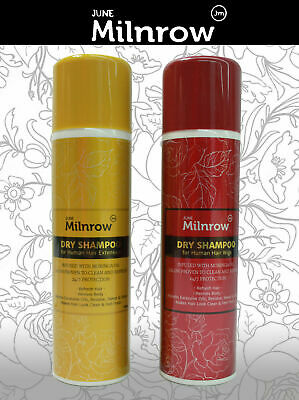 DRY SHAMPOO FOR HUMAN HAIR WIGS & EXTENSIONS.24/7 Protection PROVEN JUNE Milnrow