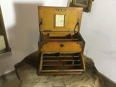 antique stationery box