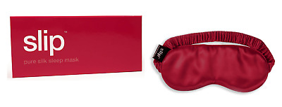 SLIP™ Pure Eye Silk Sleep Mask - RED- New in Box $50