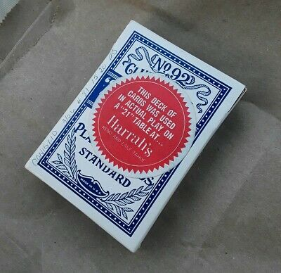 1 Blue Bicycle Bee Playing Cards Deck Club Special No.92 Standard Index Poker UK