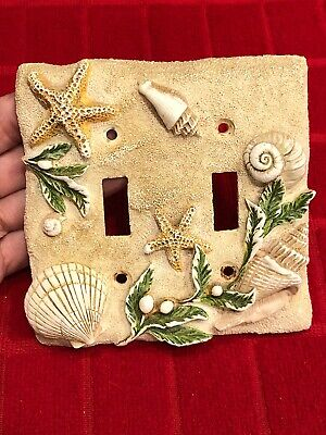 Vintage 3-D Light Switch Plate Cover