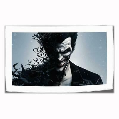 "16""x26""DC Batman Joker Paintings HD Print on Canvas Home Decor Wall Art Picture"