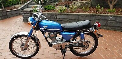 1972 Honda CB100 Outstanding Condition with Genuine Original 790km