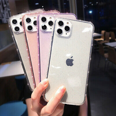 For iPhone 11 Pro Max XR XS X 8 7 Plus 6s Diamond Crystal Slim Phone Case Cover