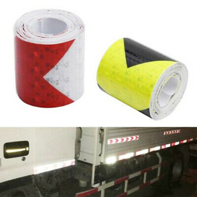 Safety Conspicuity Sticker Reflective Safety Warning Tape Arrow Tape Strip