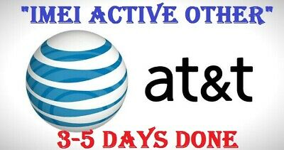 "New Premium At&T Iphone Unlock Service  ""Imei Active Other And Clean Imei"""