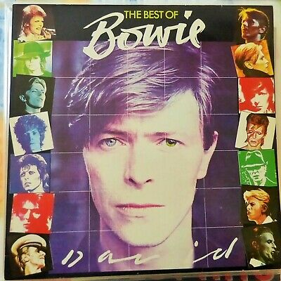 David Bowie Lp The Best Of 1981 France Vg++/Ex