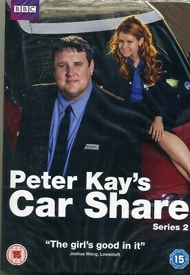 Peter Kays Car Share Series 2 - Peter Kay  Sian Gibson New Sealed DVD