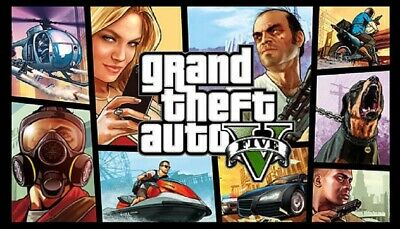 GTA Grand Theft Auto V FIVE 5 PC ROCKSTAR download KEY region free