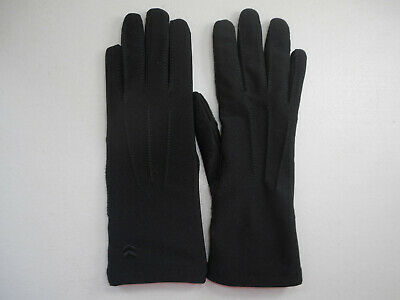 Aris Isotoner Warm Ultra Gloves Black 25632 NEW One Size Fits All