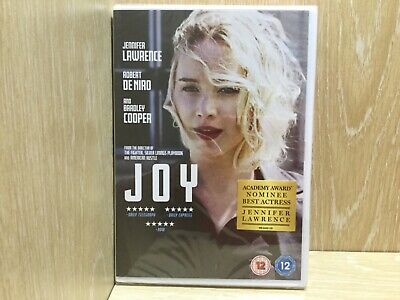 Joy DVD New & Sealed Jennifer Lawrence Bradley Cooper