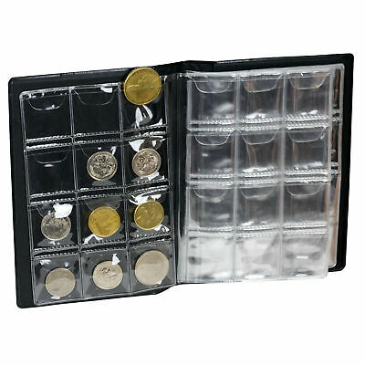 Coin Storage Collection Book Album Holder Pockets Penny Money Collecting Stock