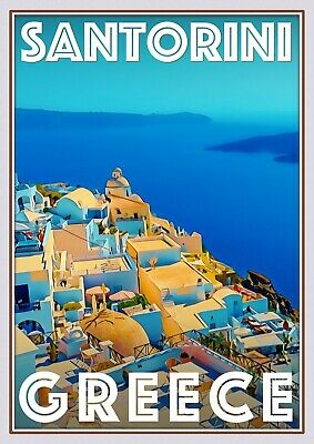 Art Deco Travel Posters Lovely Vintage Retro Holiday Tourism *Uniqu Cook Islands