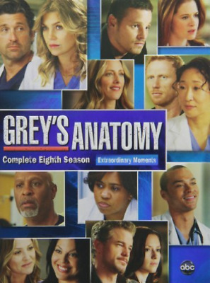 Grey`S Anatomy: The Complete Eighth Season (US IMPORT) DVD NEW