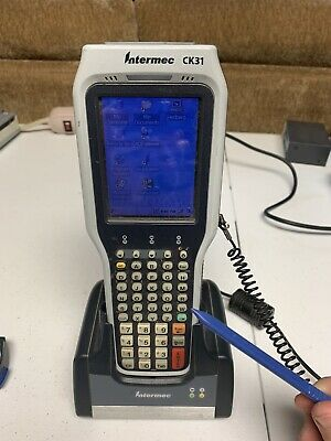Intermec CK31 Handheld Scanner CK31CB031L002804 with Dock and Extra Battery