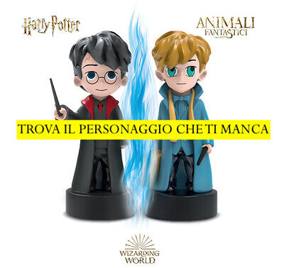 WIZZIS Wizarding World HARRY POTTER e ANIMALI FANTASTICI 2019 SCEGLI PERSONAGGIO