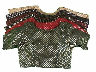 Gold Sequence Saree blouse - With Cups - Many Colours - AF1907 KY1119