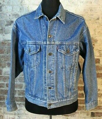Vintage 80's LEVI'S Denim Jacket Men's M Medium Trucker Denim 70507-4890 EUC