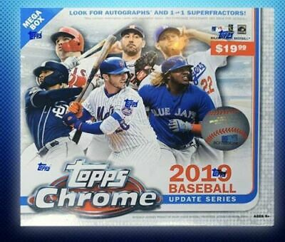 2019 Topps Chrome Update Baseball, You Pick, Complete Your Set, Mint, Free Ship