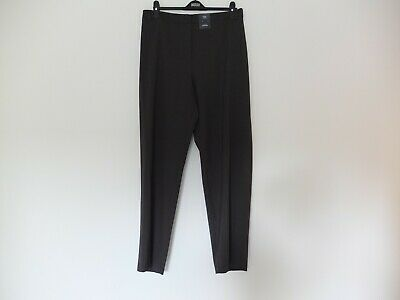 New M/&S Collection Ladies Slim 7//8 Cotton Stretch Trousers Size 14 L24.5